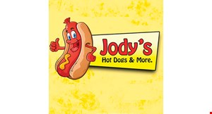 Product image for Jody's Hot Dogs & More free buy one hot dog, get one free.