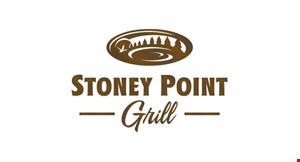 Product image for Stoney Point Grill $10 off food purchase of $50 or more. Excludes alcohol.