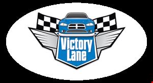Victory Lane Hand Car Wash logo