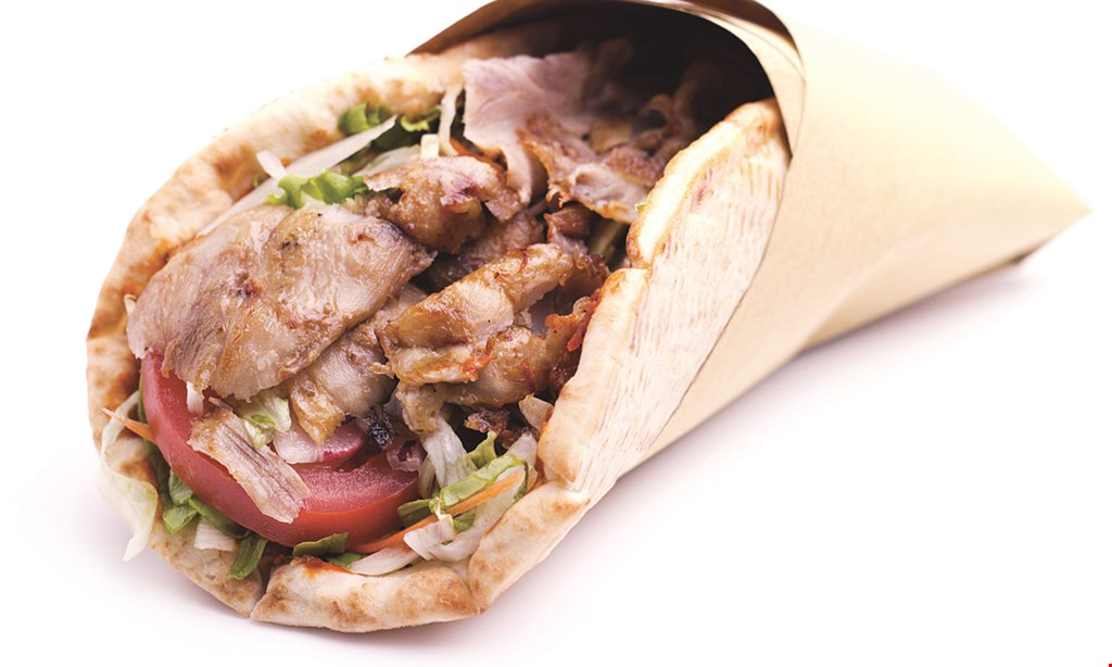 Product image for Pita Pita on The Hill Free fountain drink with the purchase of any whole sub or sandwich.