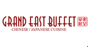 Grand East Buffet logo