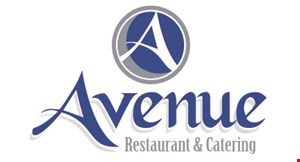 Product image for Avenue Restaurant & Catering $5 OFF your lunch guest check of $30 or more.