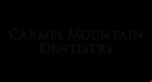 CARMEL MOUNTAIN DENTISTRY logo