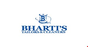 Bharti's Tailors & Cleaners logo