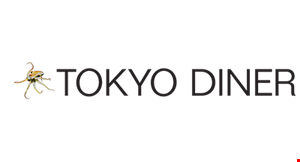 Product image for Tokyo Diner 15% off entire check