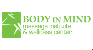 Body In Mind Massage Institute- Phoenix Wellness Spa (NJ License #18KB00041400) logo