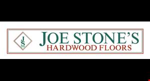 Joe Stone's Hardwood Floors logo