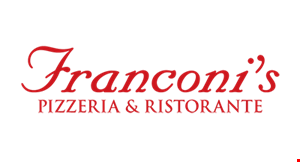 Product image for FRANCONI'S PIZZERIA & RESTAURANT $10 off 2 dinner entrees.