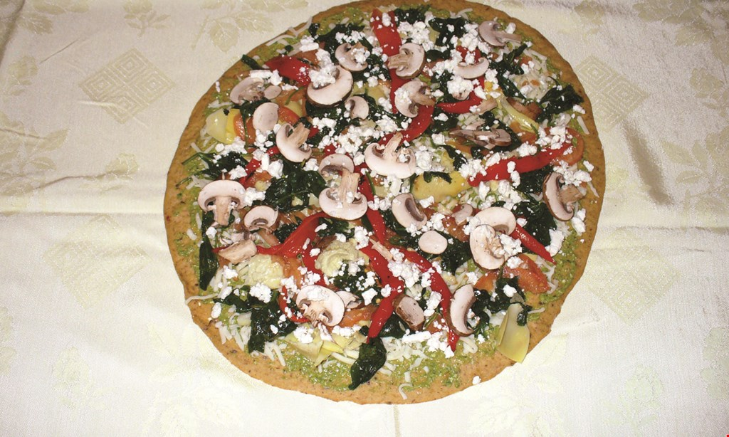 Product image for Savor Healthy Pizza $10 OFF any order over $50.