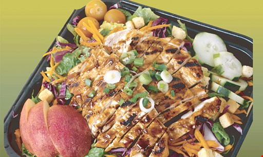 Product image for Waba Grill 20% off any free delivery on catering orders over $100.