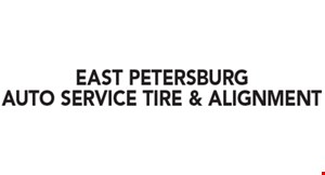 Product image for East Petersburg Auto Service Tire & Alignment $36 FULL-SERVICE OIL CHANGE