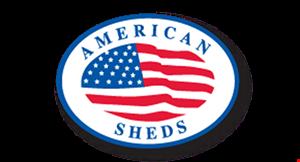 American Sheds logo