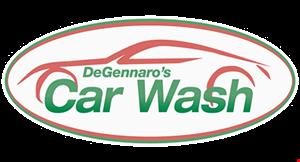 Degennaro's Car Wash logo