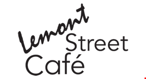Product image for Lemont Street Cafe 1/2 off entree