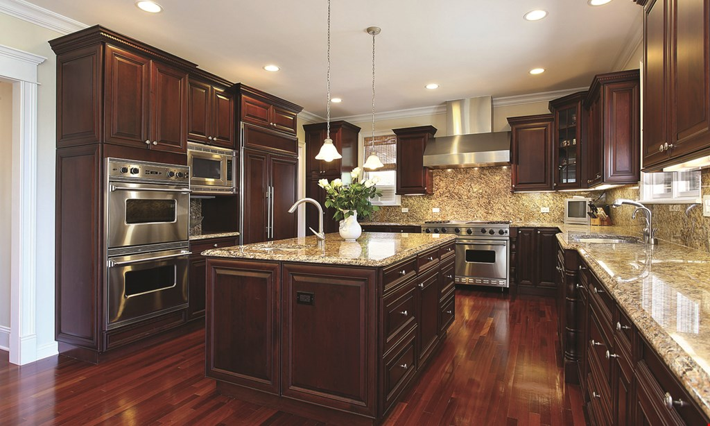 Product image for Creative Stone & Cabinets Corp $6599 INCLUDES INSTALLATION KITCHEN SPECIAL 10'x10'