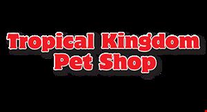 Tropical Kingdon Pet Shop logo