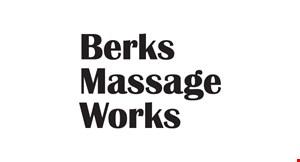 Berks Massage Works logo