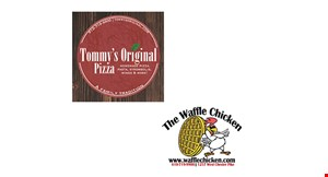"""Product image for Tommy's Original Pizza $21.99 + tax 2 x-large 16"""" cheese pizzas"""
