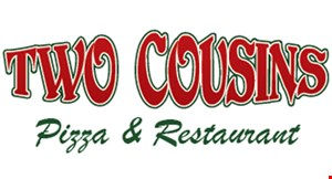 Two Cousins Pizza & Restaurant logo