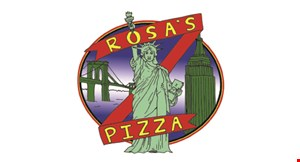 Product image for Rosa's Pizza $2 off any large pizza.