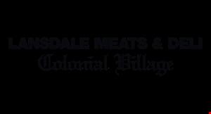 Lansdale Meats & Deli Colonial Village logo