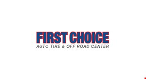 First Choice Auto Tire & Off Road Center logo