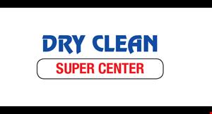 Dry Clean Super Center logo