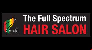 The Full Spectrum Hair Salon logo