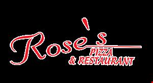 Rose's Pizza logo