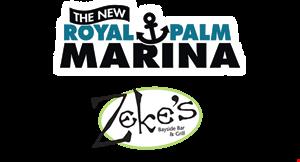 Zeke's Bayside Bar & Grill logo