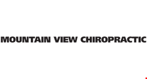 Mountain View Chiropractic logo