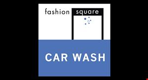 Fashion Square Car Wash logo