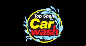 Top Shelf Car Wash logo
