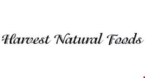 Harvest Natural Foods logo
