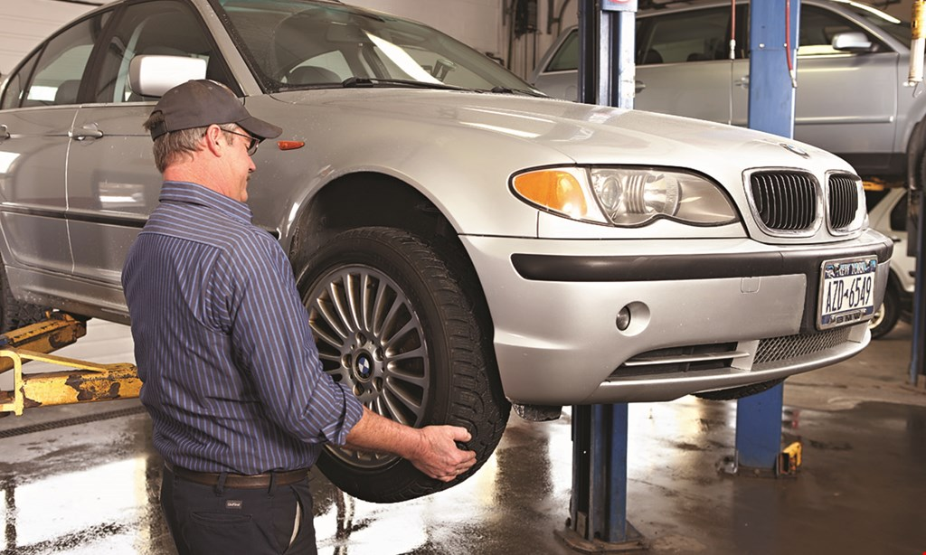 Product image for WARREN TIRE $20 off alignment check