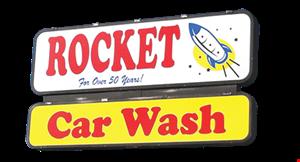 Rocket Car Wash logo