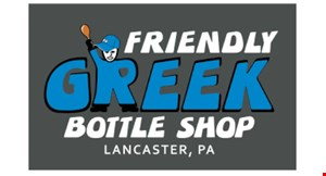 Friendly Greek Bottle Shop logo