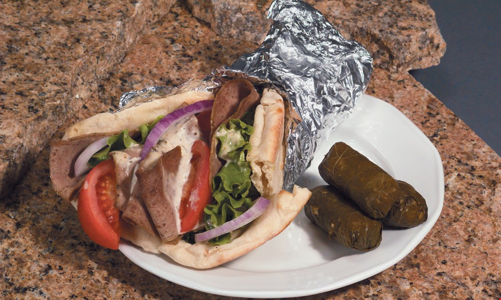 Product image for Friendly Greek Bottle Shop $13.99 + tax any 2 large subs or steaks.