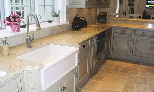 Product image for Fleming Tile & Marble, Inc. $200 off any granite countertop project over 40 sq. ft.