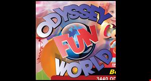 Odyssey Fun World-Naperville logo