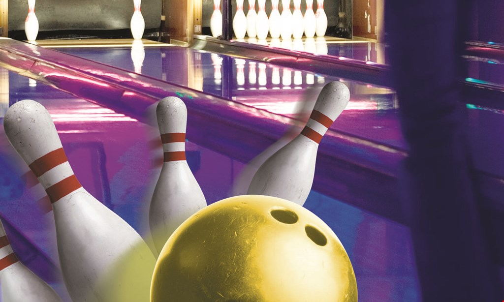 Product image for Hampton Lanes Free 2 games of bowling