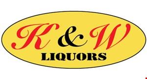 K&W Liquors logo