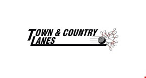 Product image for Town & Country Lanes  $3 per game 9am-5pm OR $4.75 per game 5pm-Close