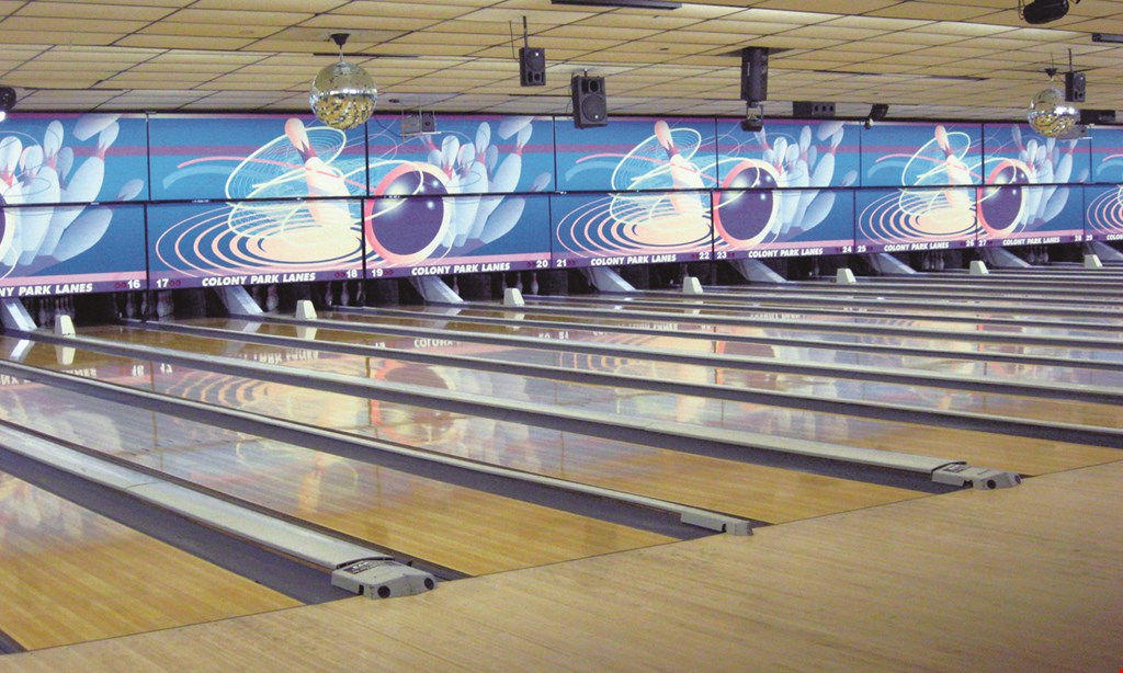 Product image for Town & Country Lanes $20 1 hourof bowling. $36 2 hoursof bowling. .