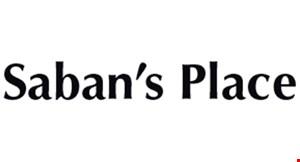 Saban's Place logo