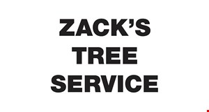 Zack's Tree Service logo