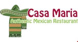 Casa Maria Authentic Mexican Restaurant logo