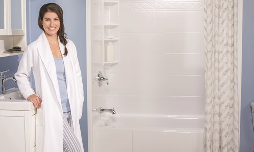 Product image for Bath Fitter SAVE 10% up to $500 OFF PLUS Choose 1 of 3 Upgrades.