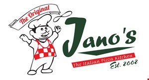"Product image for Jano's $1 off any large 16"" pizza"