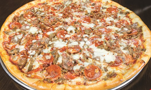 """Product image for DONATOS PIZZA $1.00 off any medium 12"""" pizza OR $2.00 off any large 14"""" pizza. Promo code: 100/201."""